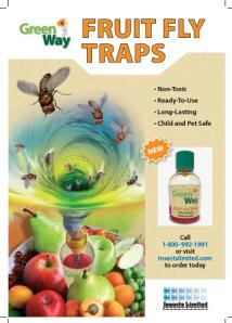 GreenWay Fruit Fly Ad